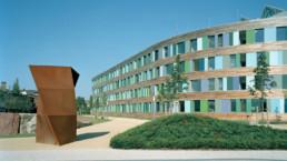 STrauma Landschaftsarchitektur Berlin landscape architects Umwetlbundesamt Dessau Lageplan