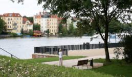 STrauma Landschaftsarchitektur Berlin landscape architects Luisenhain Berlin Ufer