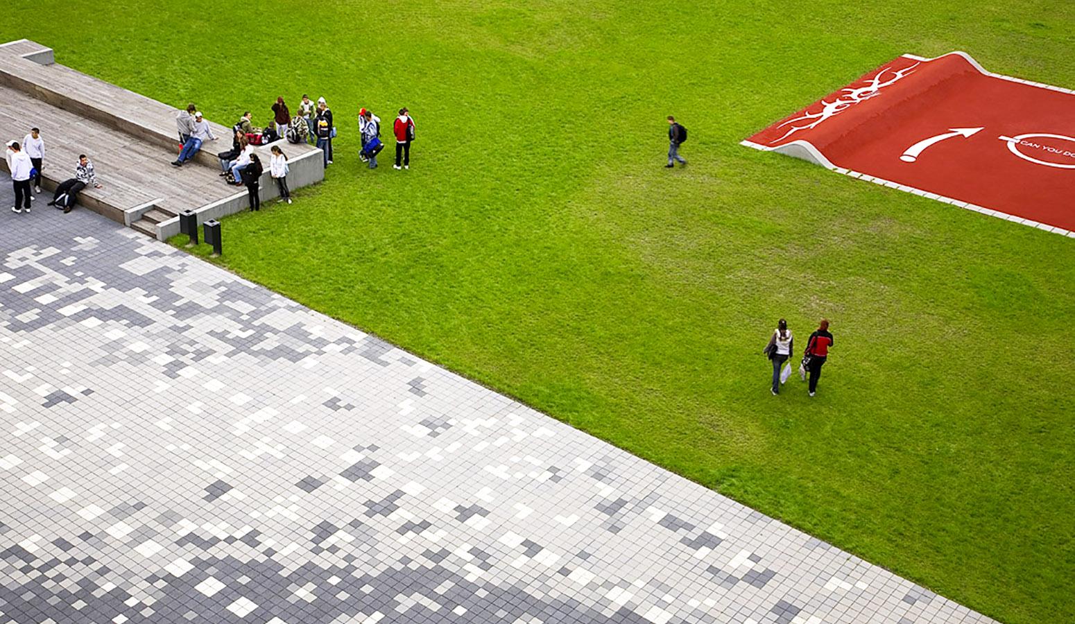 STrauma Landschaftsarchitektur Berlin landscape architects Otto Hahn Schule