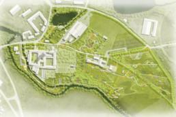 STrauma Landschaftsarchitektur Berlin landscape architects Landesgartenschau Aigen-schlägl Plan