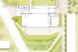 STrauma Landschaftsarchitektur Berlin landscape architects Haus der Begegnung Königstein Lageplan
