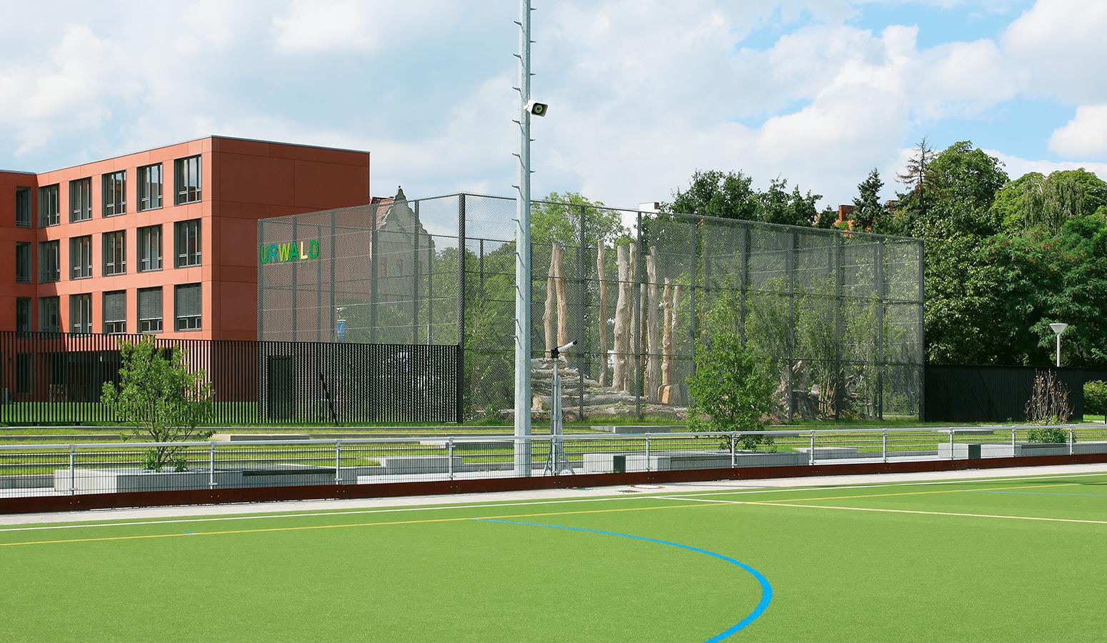STrauma Landschaftsarchitektur Berlin landscape architects Otto Hahn Schule Urwald