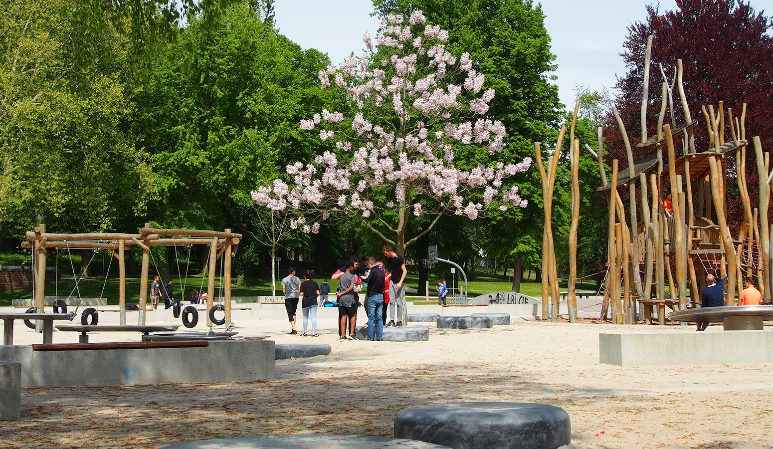 STrauma Landschaftsarchitektur Berlin landscape architects Höchster Stadtpark Frankfurt am Main