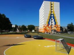 STrauma Landschaftsarchitektur Berlin landscape architects Hennigsdorf Farbquartier Parkanlage