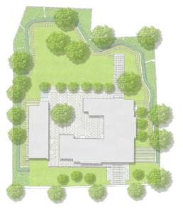 STrauma Landschaftsarchitektur Berlin landscape architects Norwegische Residenz Berlin Lageplan