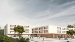 STrauma Landschaftsarchitektur Berlin landscape architects Gustav Heinemann Schule Essen