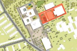 STrauma Landschaftsarchitektur Berlin landscape architects Gustav Heinemann Schule Essen Lageplan