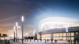 STrauma Landschaftsarchitektur Berlin landscape architects Dynamo Stadion Moskau Perspektive