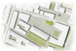STrauma Landschaftsarchitektur Berlin landscape architects Marstallplatz München Lageplan
