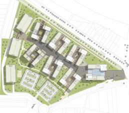 STrauma Landschaftsarchitektur Berlin landscape architects Campus Wüstenrot Lageplan