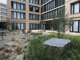 STrauma Landschaftsarchitektur Berlin landscape architects Campus Wüstenrot Naturstein