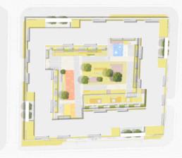 STrauma Landschaftsarchitektur Berlin landscape architects Conrad Blenkle Strasse Lageplan
