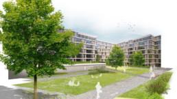 STrauma Landschaftsarchitektur Berlin landscape architects Conrad Blenkle Strasse Perspektive