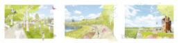 STrauma Landschaftsarchitektur Berlin landscape architects Landesgartenschau Höxter 2023 Perspektive