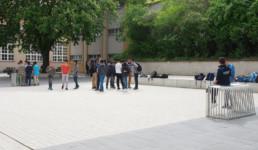STrauma Landschaftsarchitektur Berlin landscape architects Albert Schweitzer Schule Berlin Fußball Bolzplatz