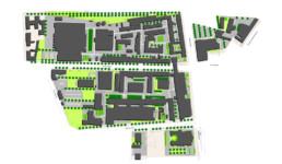STrauma Landschaftsarchitektur Berlin landscape architects Bayer Pharma graphischer Lageplan