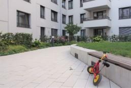 STrauma Landschaftsarchitektur Berlin landscape architects Beuthstrasse Berlin Innenhof