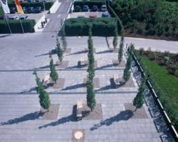 STrauma Landschaftsarchitektur Berlin landscape architects Sparkassenakademie und Seminarhotel Lichtenwalde Platz
