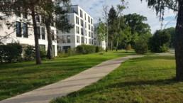 STrauma Landschaftsarchitektur Berlin landscape architects Fünf Morgen Mischgebiet Berlin nach Fertigstellung