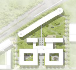 STrauma Landschaftsarchitektur Berlin landscape architects C&A Zentrale Düsseldorf Plan