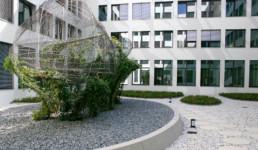 STrauma Landschaftsarchitektur Berlin landscape architects C&A Zentrale Düsseldorf Garten und Efeugarten Innenhof