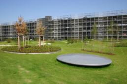 STrauma Landschaftsarchitektur Berlin landscape architects C&A Zentrale Düsseldorf Garten und Parkhaus