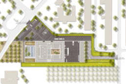 STrauma Landschaftsarchitektur Berlin landscape architects Fraunhofer Institut Lübeck Plan