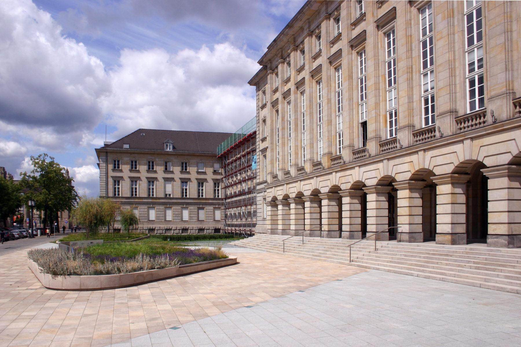 STrauma Landschaftsarchitektur Berlin landscape architects Ernst Reuter Haus Eingang