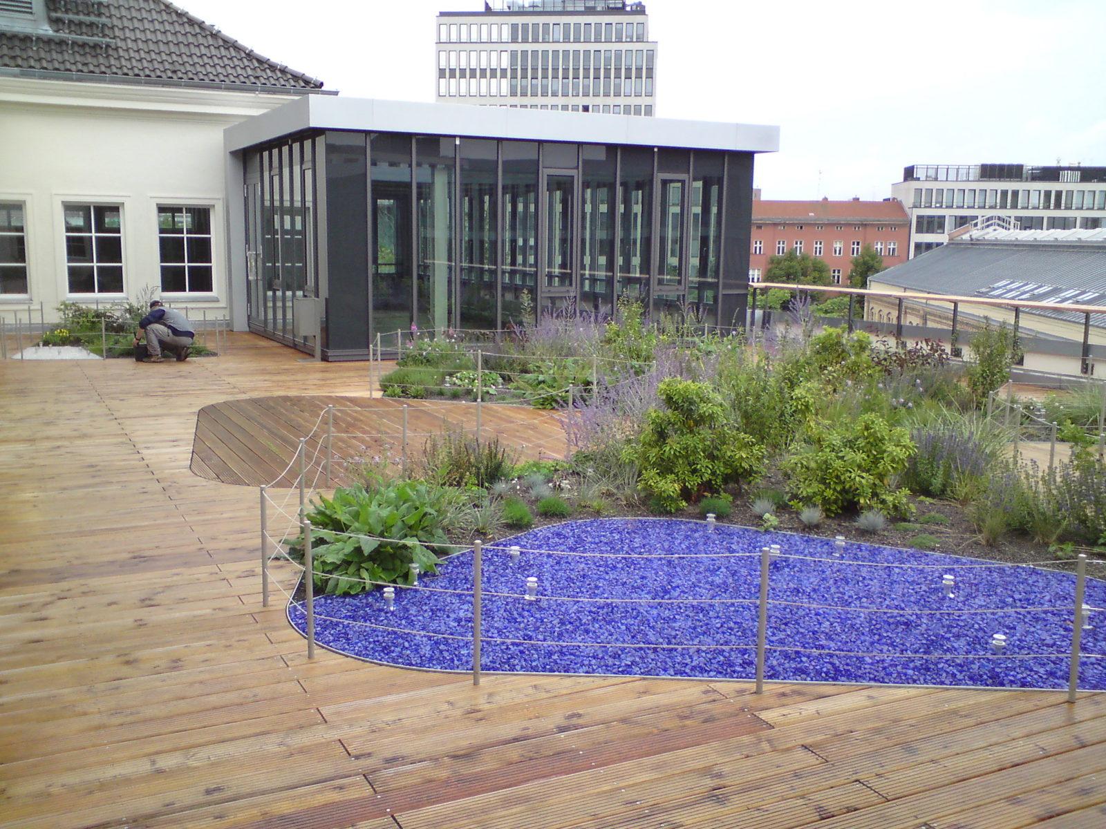 STrauma Landschaftsarchitektur Berlin landscape architects Ernst Reuter Haus Dachgarten