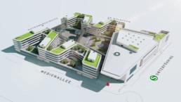 STrauma Landschaftsarchitektur Berlin New Campus - ProSieben Sat.1 Media SE Unterföhring Vielmo Plan