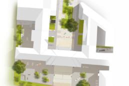 St raum a landschaftsarchitektur berlin Lageplan Albert schweizer schule freiraum