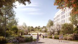 STrauma Landschaftsarchitektur Berlin landscape architects carossa quartier spandau perspektive park