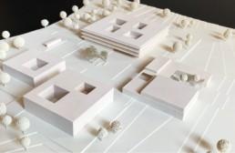 Wettbewerb Hammelburg schulzentrum campus st raum a landschaftsarchitektur berlin gewinner modell